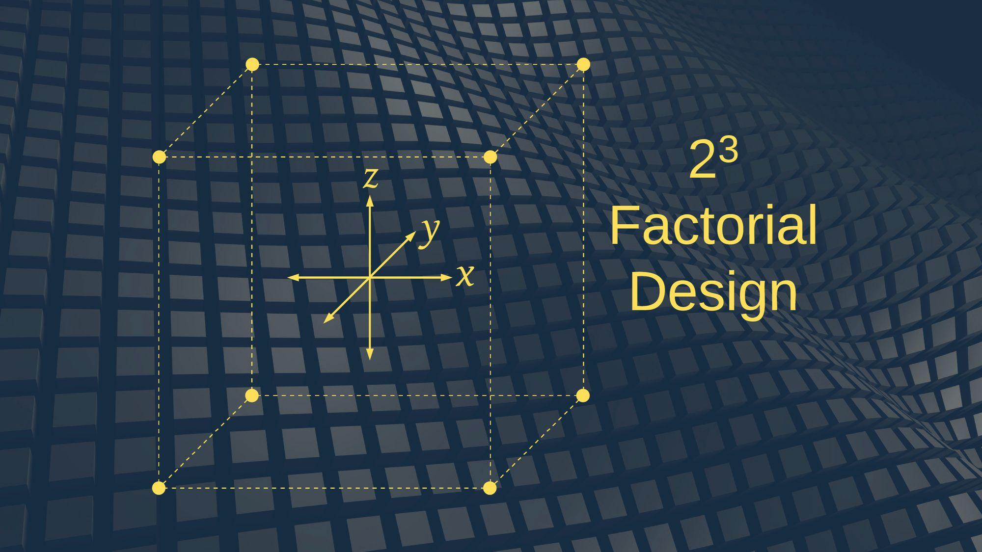 factorial-design
